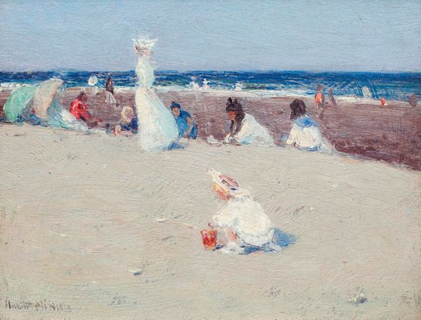 Hobart Nichols, Jr.  On the Beach Unframed