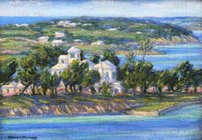 Eleanor Abrams View toward Somerset, Bermuda