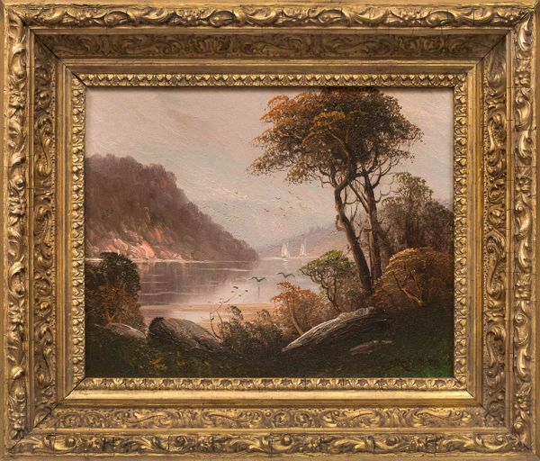Martini Fall in the Hudson Highlands Framed