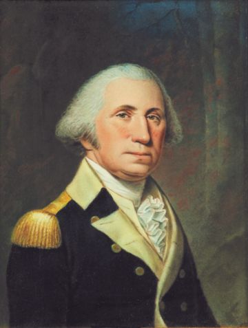 Ellen Wallace Sharples Portrait of George Washington unframed