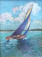 Earl Thatcher Yachting in Bermuda