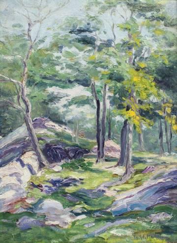 Edith Frances Marsden Springtime in the Forest Unframed