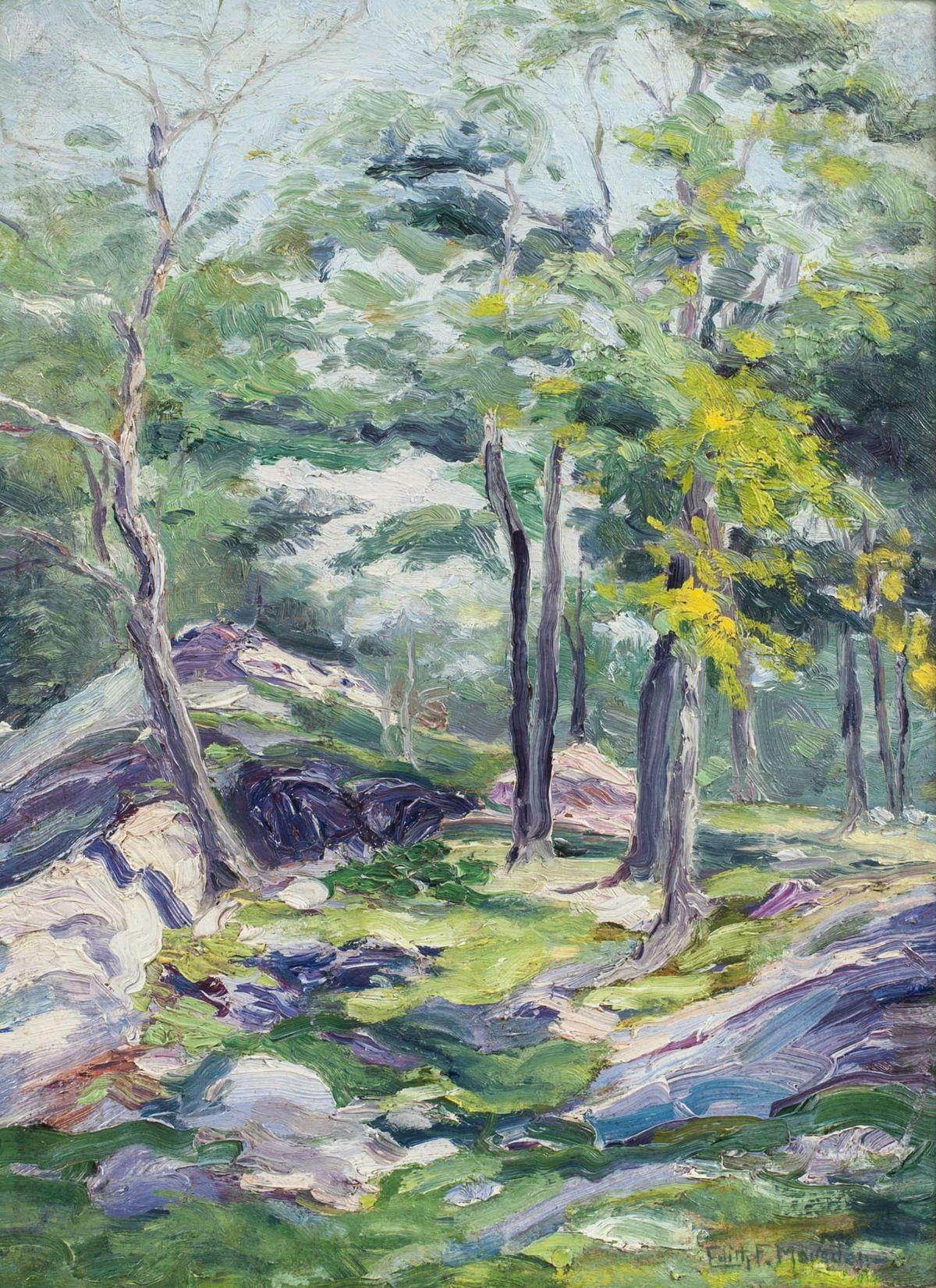 Edith Frances Marsden Springtime in the Forest Unframed