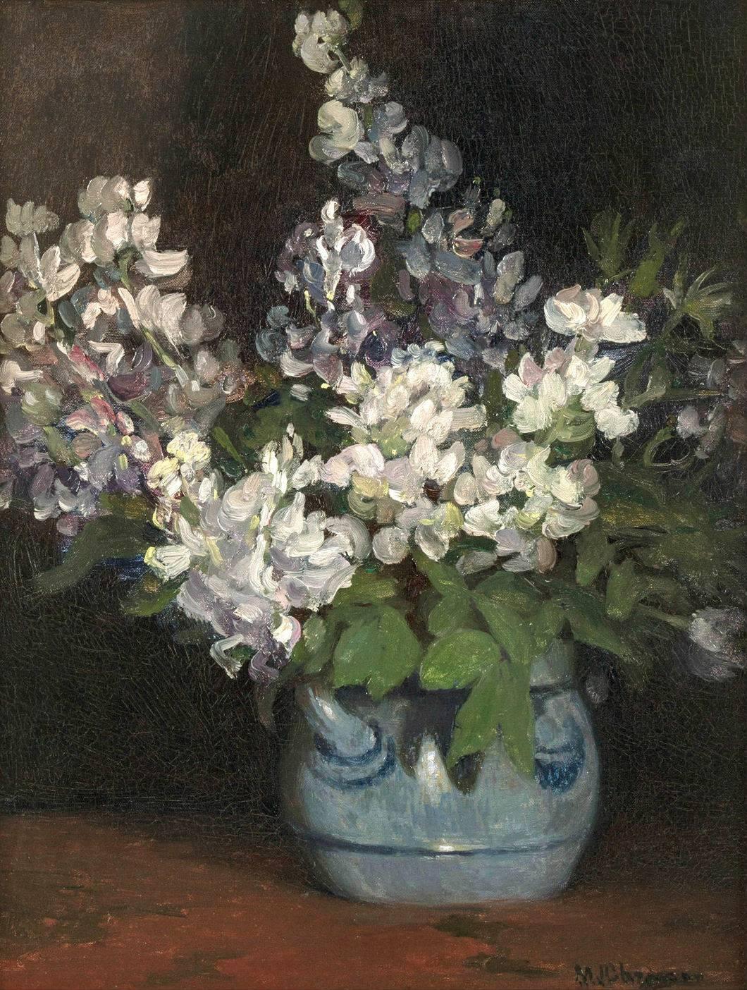 Minerva Josephine Chapman Lilacs Unframed