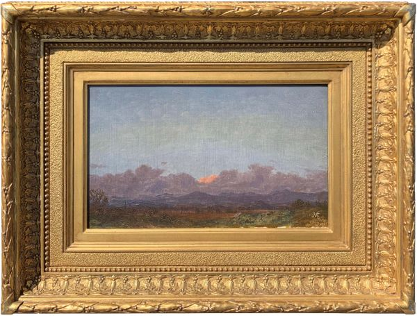 Jervis McEntee View of the Catskills at Rondout, New York, 1870