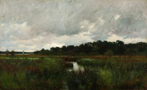 William Merritt Post Bridge in the Marshes