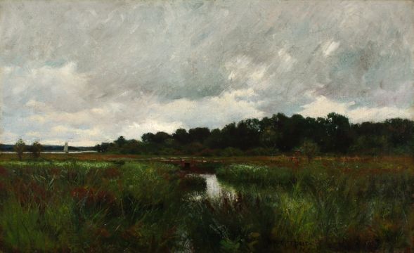 William Merritt Post Bridge in the Marshes