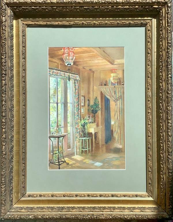 Mary Lane McMillan Interior of Artist's Home, c. 1955