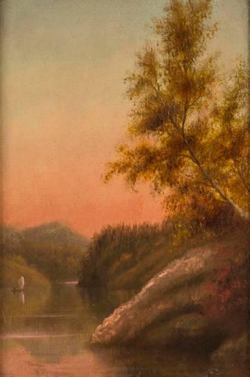 William Hart Adirondacks unframed