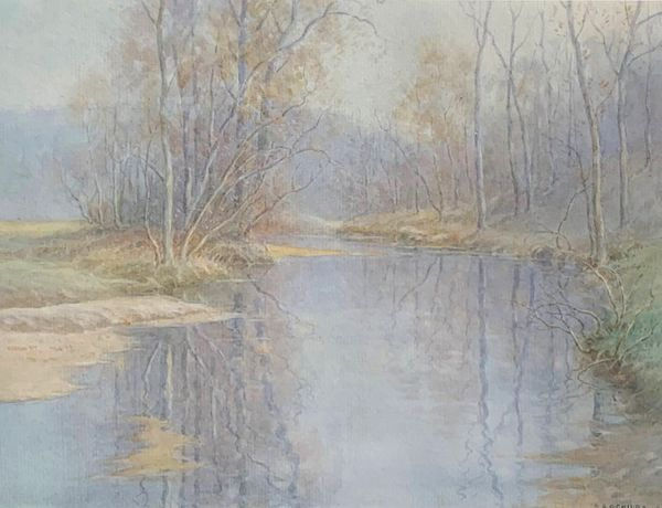 Carroll Colby Child Meandering Creek, 19266