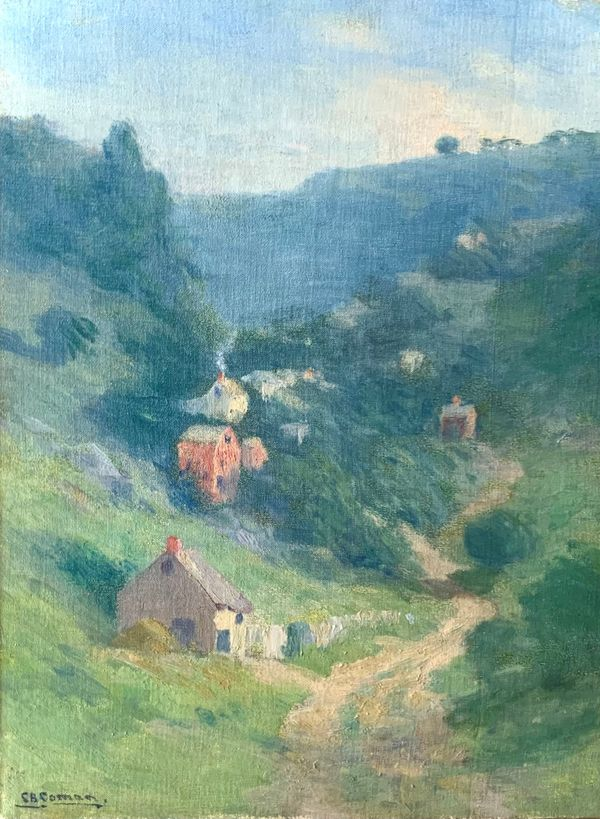 Charlotte Buell Coman In the Valley