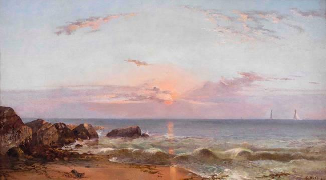 Charles Day Hunt Breezy Point, Seaside Park, Bridgeport, Connecticut, 1867 unframed