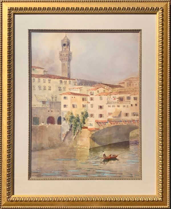 Mary Lane McMillan The Tower of the Palazzo Vecchio, Florence, c. 1910