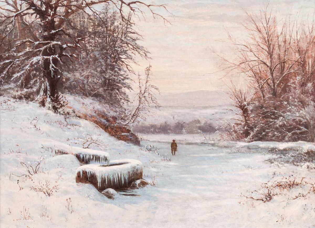 Edward Gay A Walk in Winter Unframed