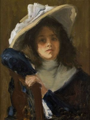 Gustave Wolff  Daughter of the Artist Unframed