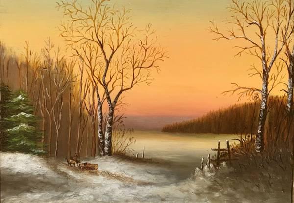 Elizabeth Webb Pair of Landscapes: Summer and Winter