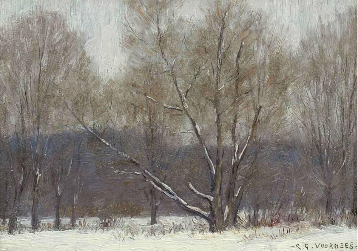 Clark Greenwood Voorhees Winter Forest Unframed