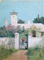Ross Sterling Turner The Green Gate, Bermuda