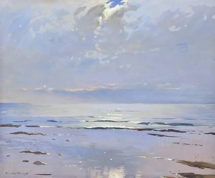 Constantin Westchiloff Seascape unframed