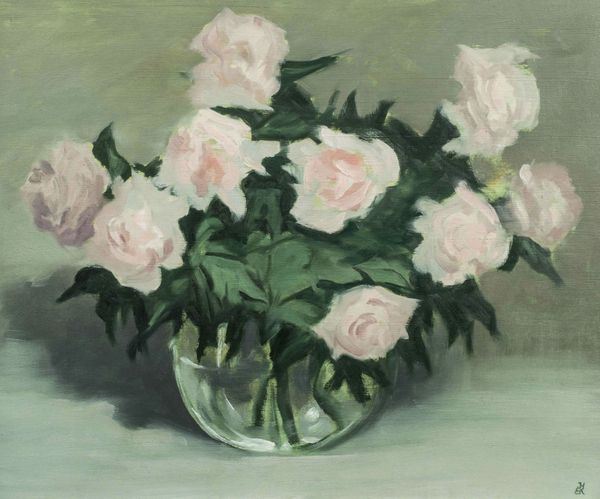 John H. B. Knowlton Roses in a Bowl