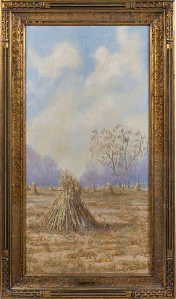 Edgar Faris Summer's End framed