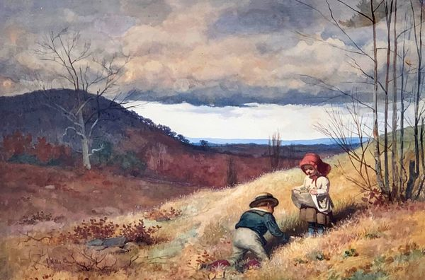 James Wells Champney Picking Flowers