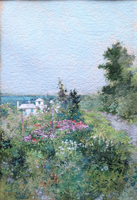 Ross Sterling Turner A Garden by the Sea