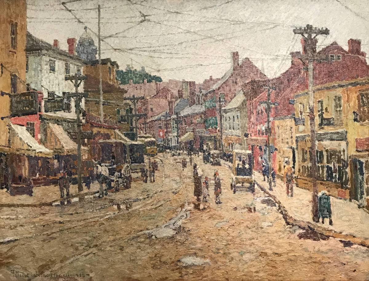 Felicie Waldo Howell, Main Street, Gloucester Unframed