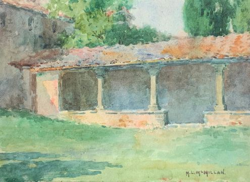Mary Lane McMillan San Franceso Monastery, Fiesole, Italy