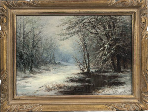 SUSIE M. BARSTOW A November Frost in the Mountains Framed