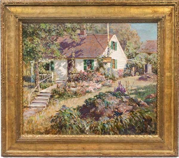 Abbott Fuller Graves The Cottage Garden Framed