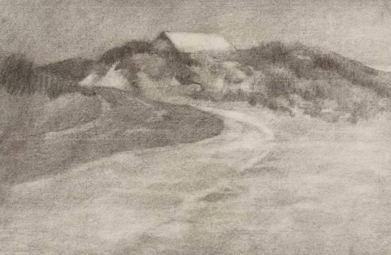 Mary L. Haines Southampton, NY 1909 unframed