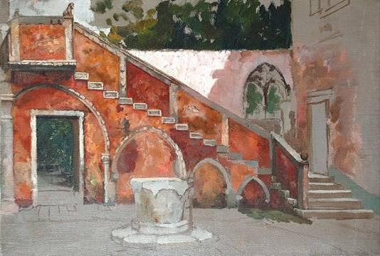 Rhoda Holmes Nicholls Venetian Stairway