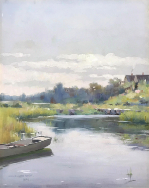 Raught At the River's Edge Unframed