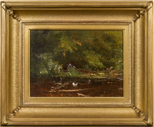 Jervis McEntee  Brook at Scribners (Catskills) Framed