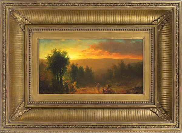 Carl (Charles) August Sommer Sunset in the Catskills, c. 1860
