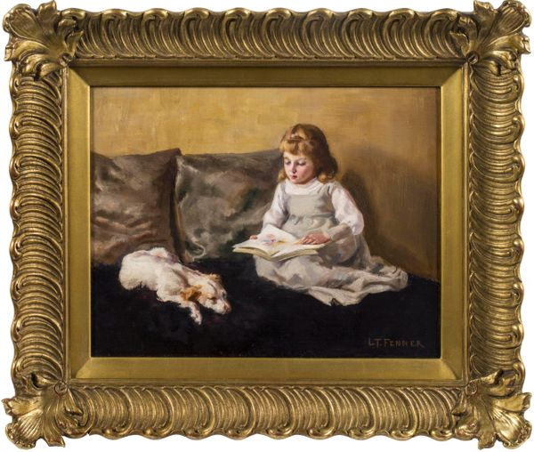 Lucy T. Fenner The Reading Companion framed