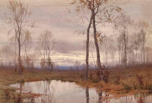 Henry Farrer (1843 -1903) Autumn