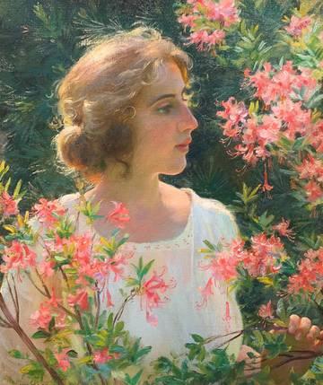 Charles Courtney Curran Breath of the Wild Azaleas, 1920