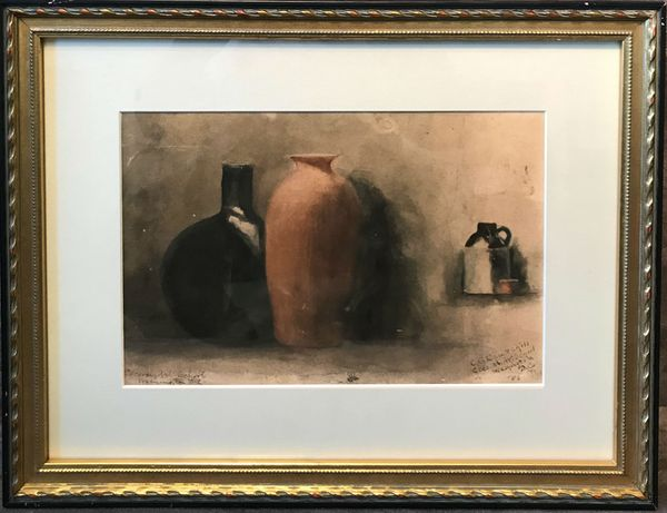 Clara G. Churchill Still-life Framed