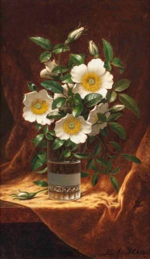 Martin Johnson Heade Cherokee Roses unframed