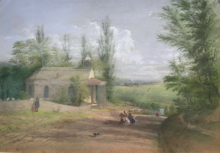 William Rickarby Miller The Old Dutch Church, North Broadway, Sleepy Hollow, New York