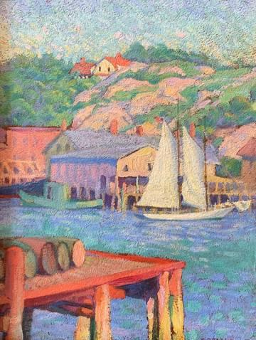 Grace Cochrane Harbor and Hillside