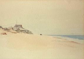 Jane Brewster Reid Nantucket Beach unframed