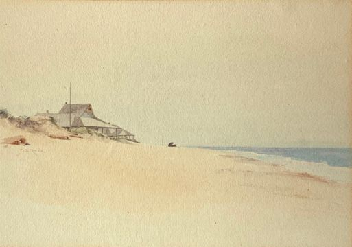 Jane Brewster Reid Nantucket Beach unframed