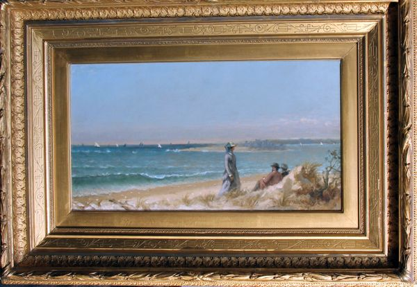 Thomas Hicks Great Egg Harbor Framed