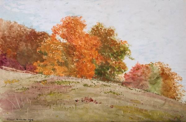 Winslow Homer Autumn Trees, 1878
