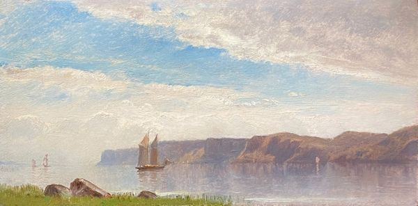 Samuel Colman Palisades on the Hudson