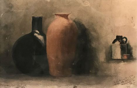 Clara G. Churchill Still-life Unframed