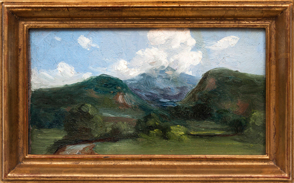 Bedell_MountainLandscape_Recto_Framed